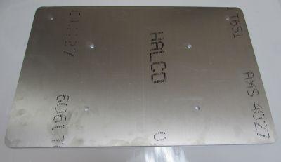51710 Lloyd Aluminum Foot Plate