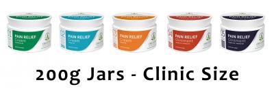 CBD CLINIC™ - 200g Clinic Size Jars