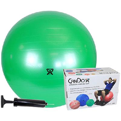 CanDo Economy Exercise Ball - Box & Pump