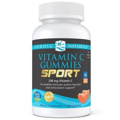 Nordic Naturals 30162 Vitamin C Gummies Sport