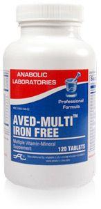 Anabolic Labs 3460 AVED-Multi Tab IRON FREE