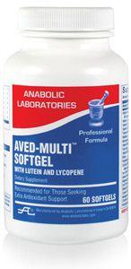 Anabolic Labs 0511 AVED Multi Softgel w/ lutein & lycopene