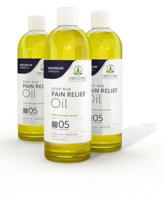 CBD Clinic Massage Oil - Level 5