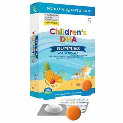 Nordica Naturals Children's DHA Gummies