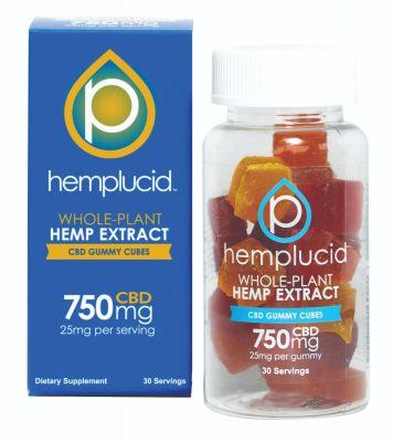 Hemplucid Full-Spectrum CBD Edible Gummies