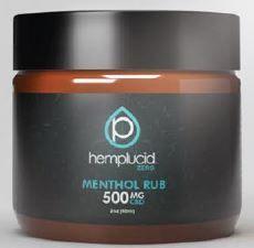 Hemplucid Zero (Kalki) CBD Menthol Muscle Rub