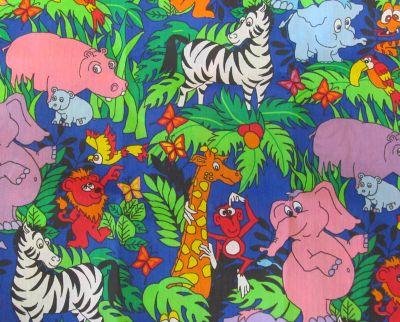 Petite Core Jungle Print Pillow Case