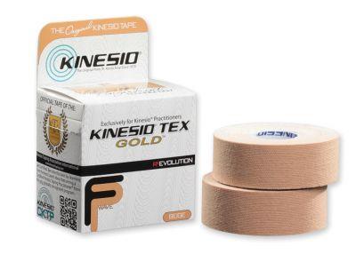 """1""""x16.4' Kinesio Tape- 2 Std Rolls"""