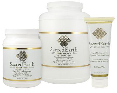 Sacred Earth Botanicals Unscented Massage Cream