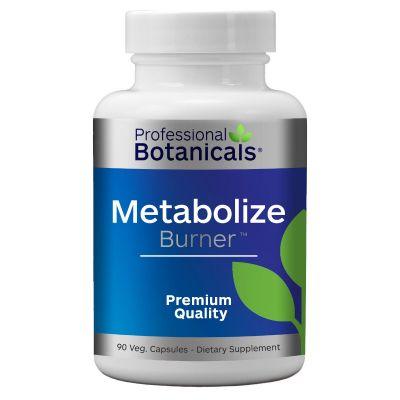 Professional Botanicals PB186-90 Metabolize Burner