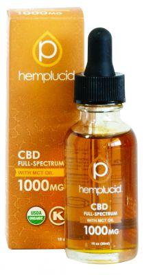 1oz. Hemplucid USDA Organic MCT Oil