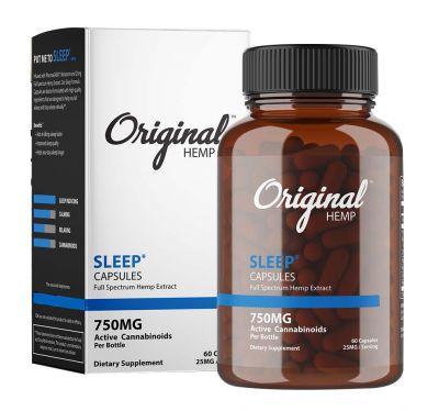 Original Hemp Sleep Capsules - Full Spectrum Hemp Extract