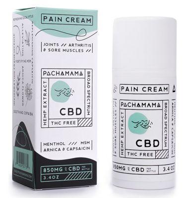 Pachamama 850mg CBD Pain Cream