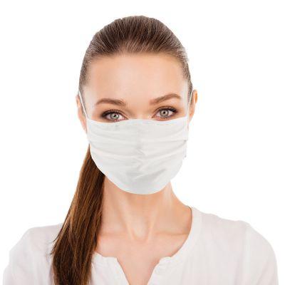 Reusable Poly Cotton Face Masks - 10 per bag