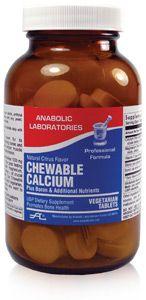 Anabolic Labs 0602 Chewable Calcium w/ Boron Tab