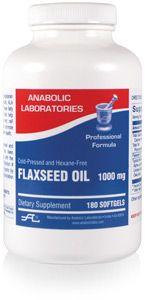 Anabolic Labs 0131 Flax Seed Oil Organic