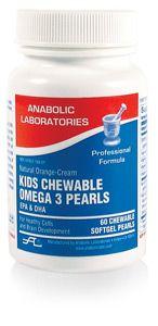 Anabolic Labs 0168 Kids Chewable EPA/DHA Pearls