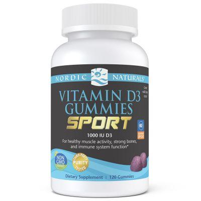 Nordic Naturals 31142 Vitamin D3 Gummies Sport