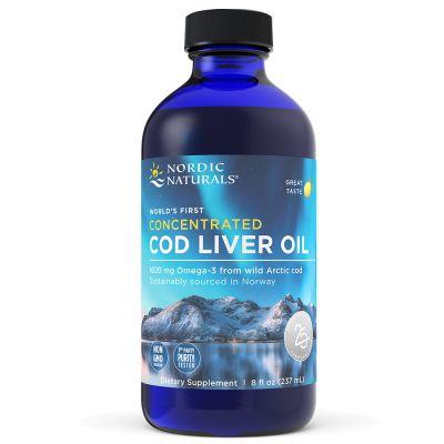 Nordic Naturals 55787-8oz Concentrated Arctic Cod Liver Oil