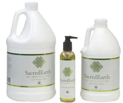 Sacred Earth Botanicals Unscented Massage Oil