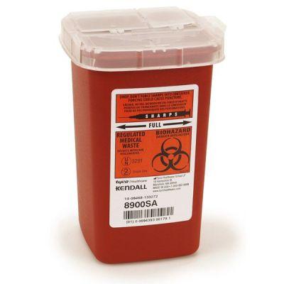 Quart Size Needle Container