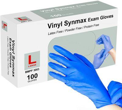 Synmax Vinyl Exam Gloves - 100 Gloves/Box