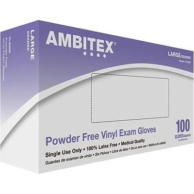 Synthetic Vinyl Exam Gloves