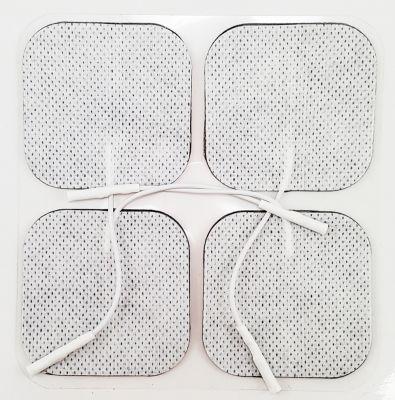 2x2 in. White Cloth Tens Electrodes TT4000-CS