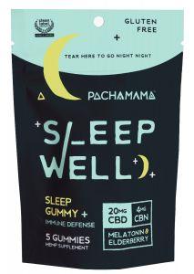 Pachamama Sleepwell Gummies - 5 count pouch
